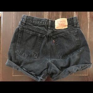Black Levi's Shorts